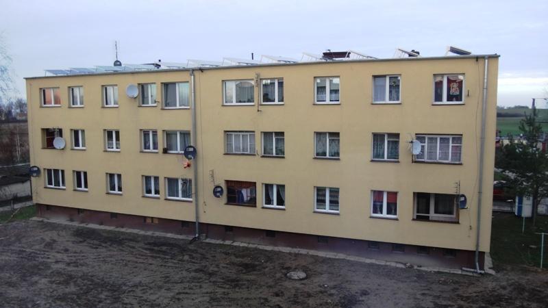 fot. 3 Budynek wielorodzinny w miejscowości Zielonki [źródło: PORT PC/ NIBE-BIAWAR]