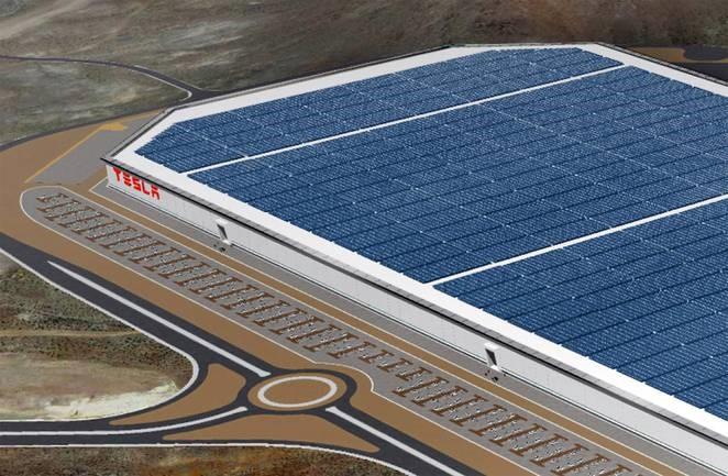 Gigafactory w Nevadzie, źródło: www.tesla.com