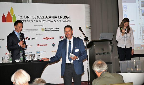 Zdjęcie 2. Organizatorzy 12. Dni Oszczędzania Energii.